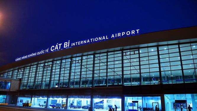 Ga hành khách sân bay Cát Bi. Ảnh: Zing