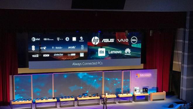 Sẽ có rất nhiều máy tính được tích hợp thêm kết nối di động LTE.
