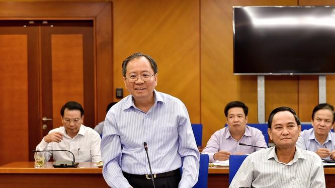 Thứ trưởng Bộ Tài chính Đỗ Hoàng Anh Tuấn - Ảnh: Cổng thông tin Bộ Tài chính