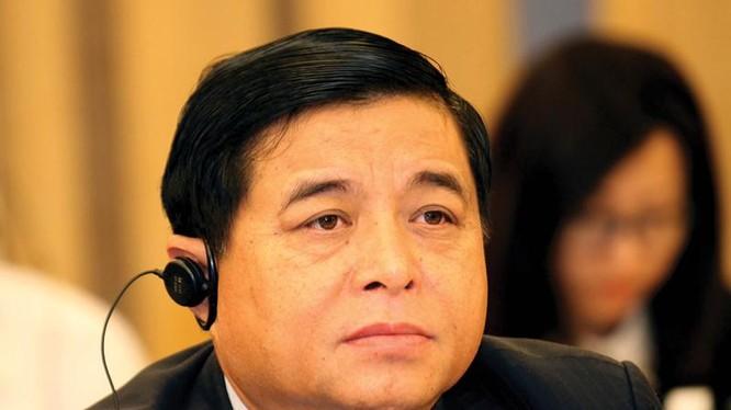 Bộ trưởng Bộ KHĐT Nguyễn Chí Dũng - Nguồn: Internet