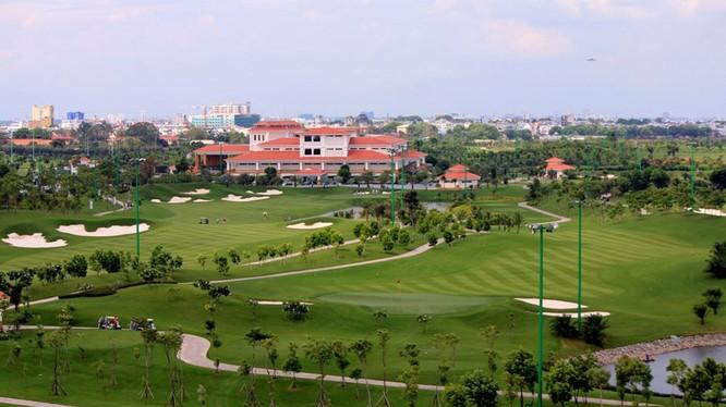 Sân golf Tân Sơn Nhất. Nguồn: internet