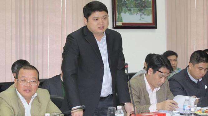 Ông Vũ Đình Duy - một trong 5 bị can vừa bị khởi tố