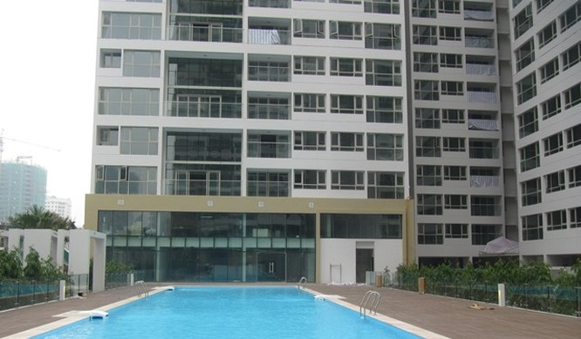 Hồ bơi trong dự án Mandarin Garden