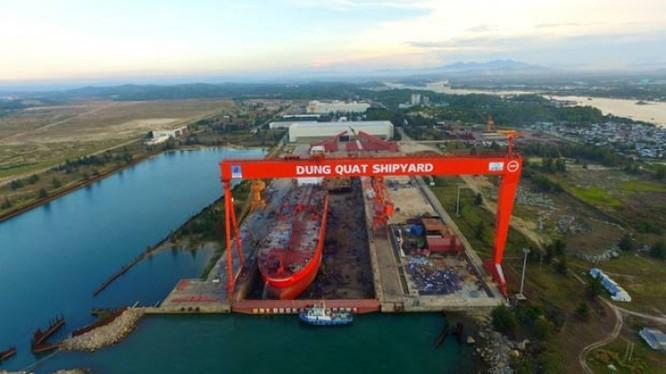 Nhà máy đóng tàu Dung Quất đã được đồng ý cho phá sản