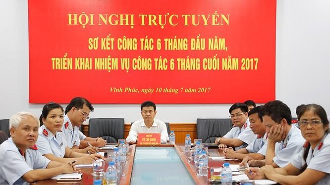 Hội nghị trực tuyến sơ kết công tác 6 tháng đầu năm của Thanh tra Chính phủ.
