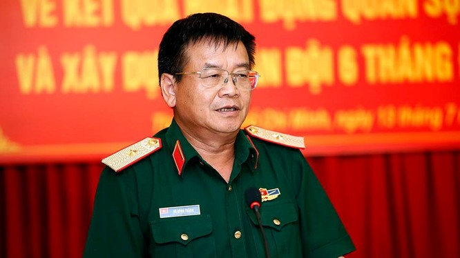 Thiếu tướng Võ Hồng Thắng. Ảnh NGỌC DƯƠNG - Thanh Niên