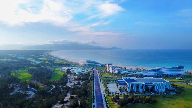 Dự án nghỉ dưỡng của Tập đoàn FLC tại Quy Nhơn. Ảnh: FLC