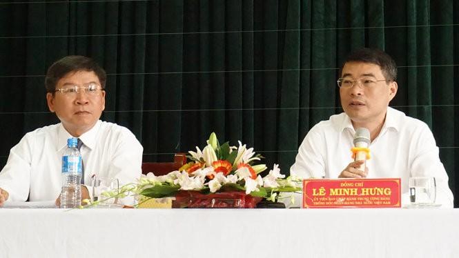 Thống đốc Lê Minh Hưng chỉ đạo công tác sắp tới của hệ thống ngân hàng - Ảnh: MINH TỰ