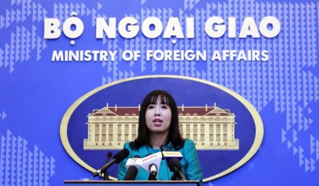 Bà Lê Thị Thu Hằng. Nguồn: Bộ Ngoại giao Việt Nam