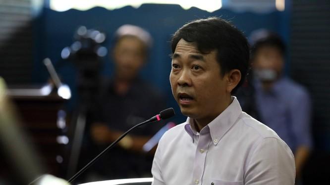 Bị cáo Nguyễn Minh Hùng - nguyên chủ tịch HĐQT kiêm Tổng giám đốc Pharma VN. Ảnh Vietnamnet