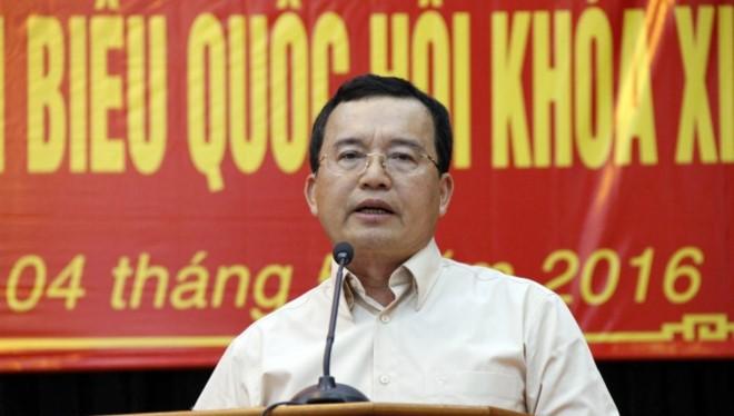 Ông Nguyễn Quốc Khánh, nguyên Chủ tịch PVN. Ảnh: Zing