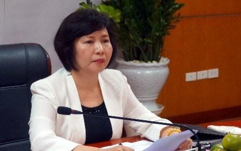 Cựu Thứ trưởng Hồ Thị Kim Thoa. Ảnh VOV