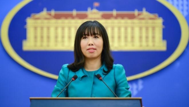 Người phát ngôn Bộ Ngoại giao Việt Nam Lê Thị Thu Hằng. Ảnh: Bộ ngoại giao