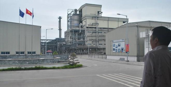 Nhà máy PvTex Đình Vũ (Hải Phòng) - điển hình đầu tư không hiệu quả. Ảnh: Tuổi trẻ