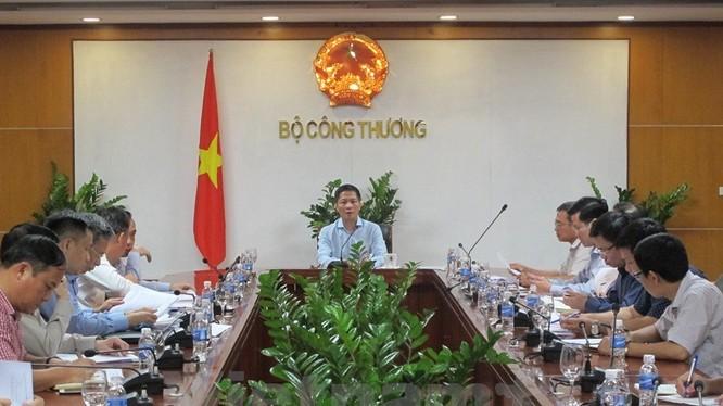 Bộ trưởng Trần Tuấn Anh họp xử lý các dự án không hiệu quả. Ảnh TTXVN