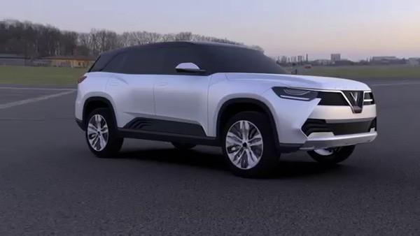 Một mẫu thiết kế xe dòng SUV của VinFast. Ảnh: VinFast