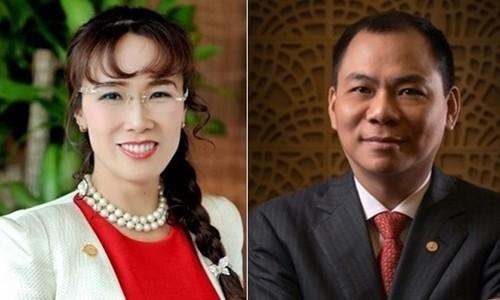 Hải tỷ phú USD của Việt Nam - ông Phạm Nhật Vượng và bà Nguyễn Thị Phương Thảo. Ảnh: VietnamBiz