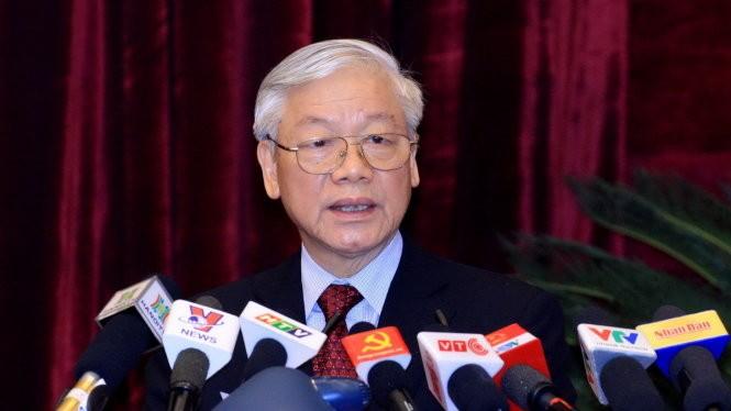 Tổng Bí thư Nguyễn Phú Trọng Ảnh: TTXVN