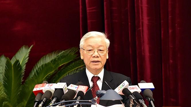 Tổng Bí thư Nguyễn Phú Trọng. Nguồn VGP