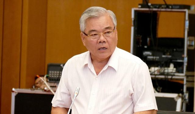 Tổng Thanh tra Chính phủ Phan Văn Sáu. Ảnh: Tuổi trẻ