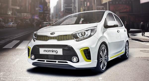 Kia Morning hiện là mẫu xe giá thấp nhất trong phân khúc hạng A. Ảnh: Thaco