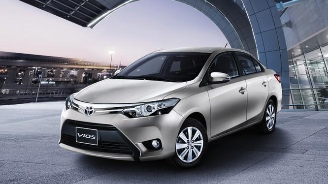 Mẫu Vios của Toyota đã giảm giá xuống mức dưới 500 triệu đồng/xe. Ảnh: Toyota