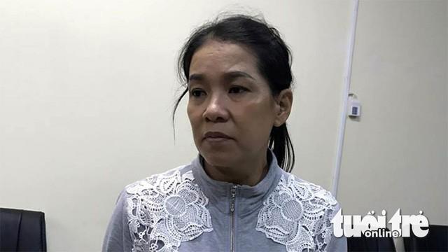 Nghi can Trần Kiều Trang thuê người thực hiện vụ việc - Ảnh: GIA MINH