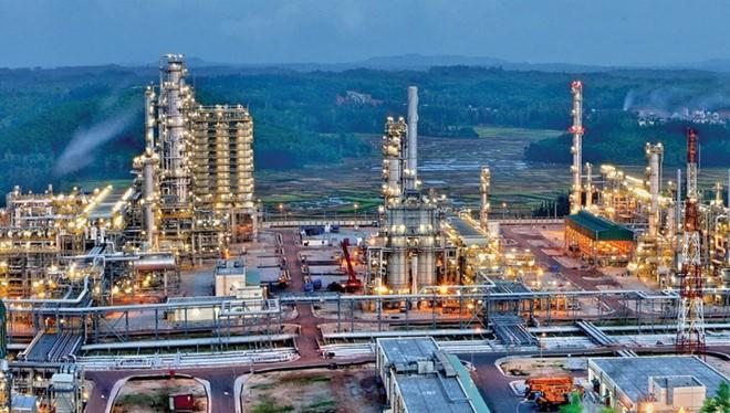 Nhà máy lọc dầu Dung Quất. Nguồn: PVN
