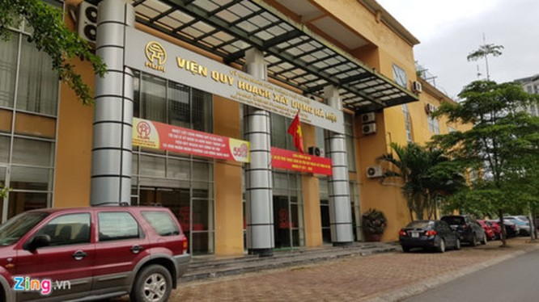 Trụ sở Viện Quy hoạch và Xây dựng Hà Nội.