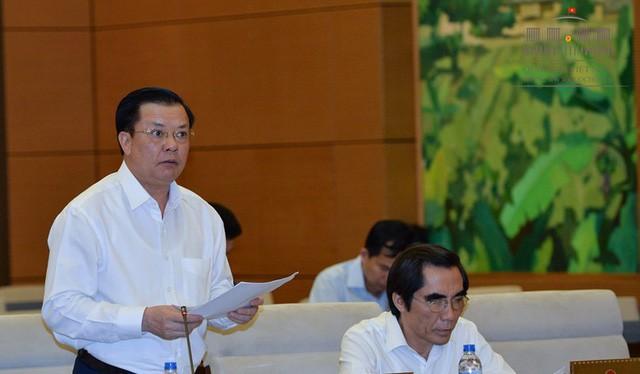 Bộ trưởng Tài chính Đinh Tiến Dũng. Ảnh Dân trí