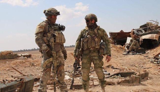 Binh sĩ đặc nhiệm Nga trên chiến trường Syria - ảnh minh họa South Front