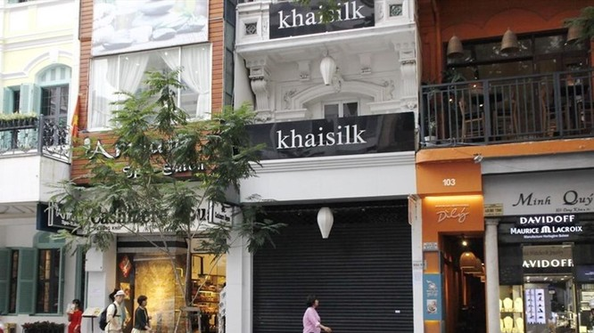 Cửa hàng Khaisilk.