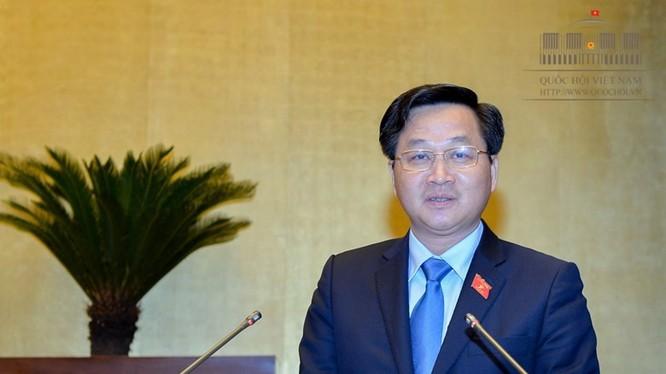 Tổng thanh tra Chính phủ Lê Minh Khái. Ảnh: Tuổi trẻ