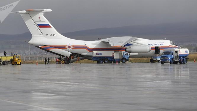 Máy bay IL-76 của Nga. Ảnh: Sputnik