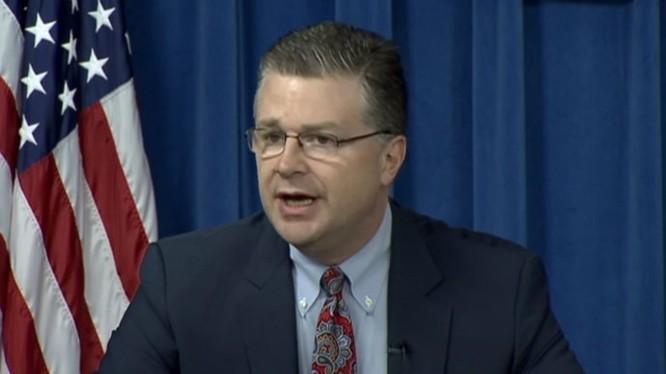 Đại sứ quán Mỹ tại Việt Nam Daniel J. Kritenbrink. Ảnh: Reuters