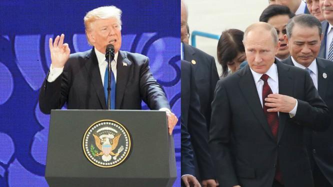 Ngày 11/10, Tổng thống Trump và Tổng thống Putin đã có mặt tại Đà Nẵng để chuẩn bị tham dự Tuần lễ cấp cao APEC.