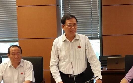 Đại biểu Quốc hội Vũ Trọng Kim (đoàn Hải Dương). Ảnh: Quochoi.vn