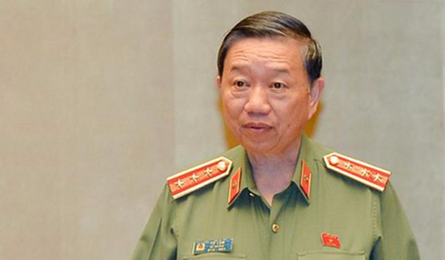 Bộ trưởng Bộ Công an Tô Lâm - Ảnh: Quochoi.vn