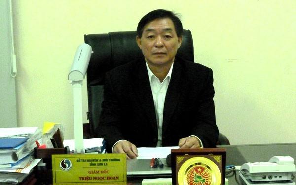 Ông Triệu Ngọc Hoan - giám đốc Sở TNMT Sơn La - Ảnh: Báo TNMT