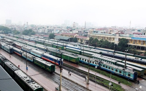 Chính phủ muốn sớm thông qua chủ trương cách mạng hóa ngành đường sắt Việt Nam bằng đường sắt tốc độ cao. Ảnh: Tổng công ty đường sắt Việt Nam