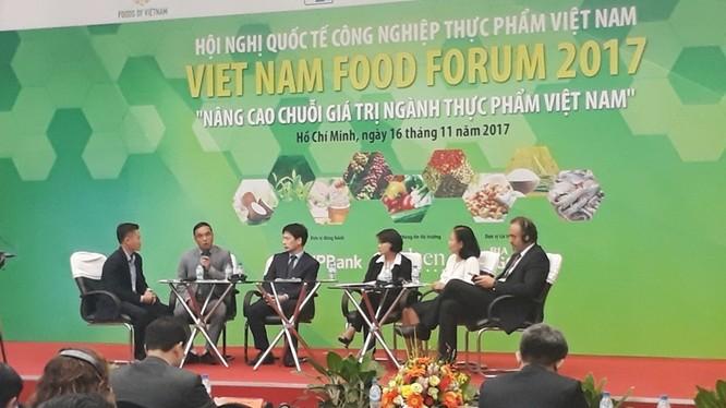 Hội nghị quốc tế công nghiệp thực phẩm Việt Nam 2017. Nguồn: VGP