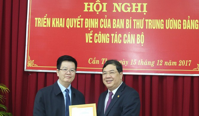 Tâm Phó ban Nội chính Trung ương Phạm Gia Túc (bên phải). Ảnh: VGP