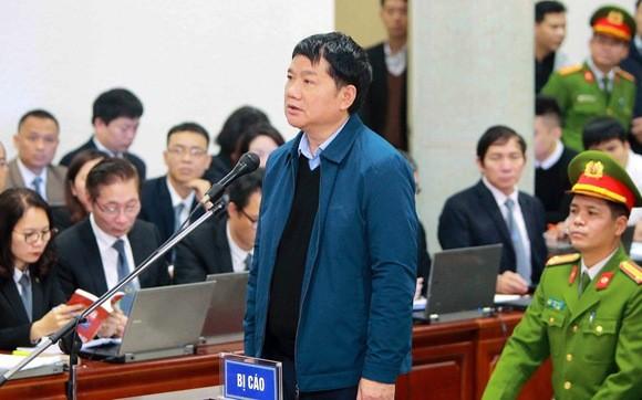 Bị cáo Đinh La Thăng tại ngày xét xử thứ 2 (9/1/2018). Ảnh: Tuổi trẻ