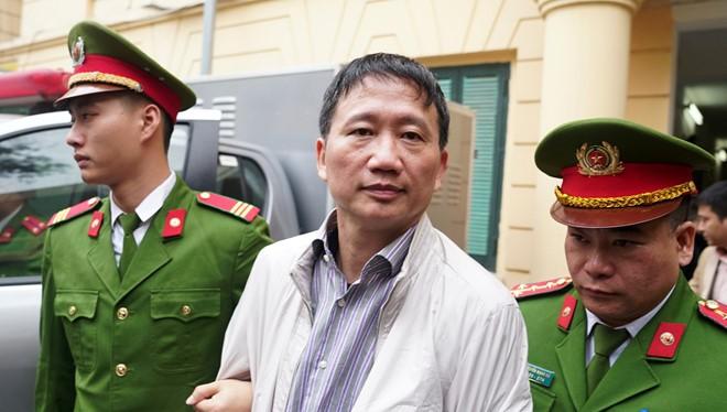Bị cáo Trịnh Xuân Thanh. Ảnh: Zing