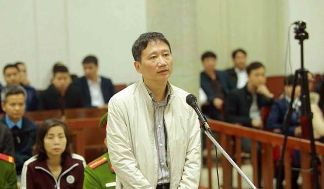 Ông Trịnh Xuân Thanh đang tiếp tục bị đề nghị mức án chung thân. Ảnh: TTXVN