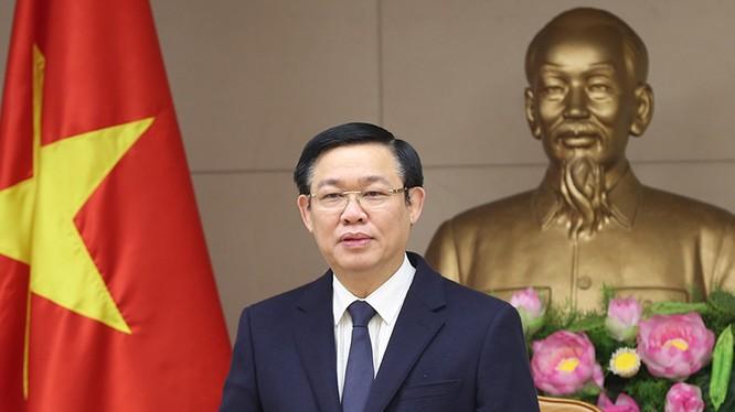 Phó Thủ tướng Vương Đình Huệ. Ảnh: Thành Chung