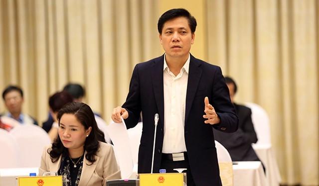 Thứ trưởng Bộ GTVT Nguyễn Ngọc Đông. Ảnh: Dân trí