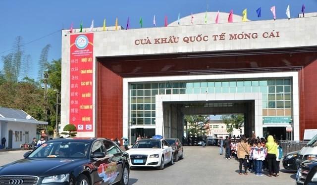 Xe đeo biển Trung Quốc được vào sâu trong đất Việt Nam 180 km. Ảnh: Báo Quảng Ninh