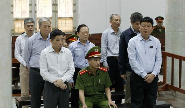 Ông Đinh La Thăng tại phiên tòa tháng 3/2018. Ảnh: Dân trí