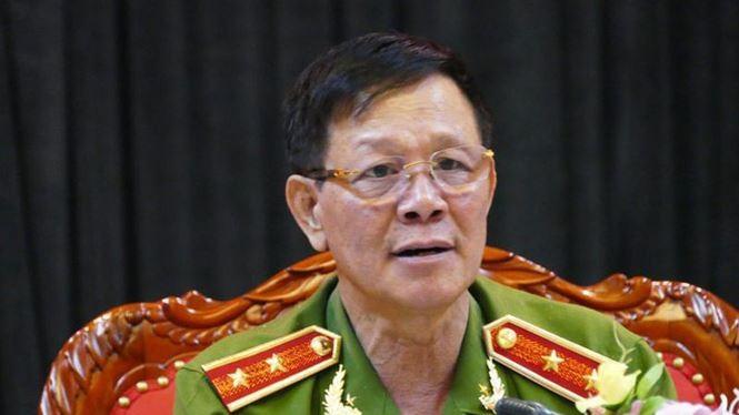 Cựu Trung tướng Phan Văn Vĩnh. Ảnh: TP